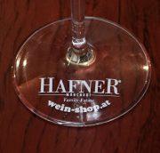 Hafner Weingläser (Kelch 1/16; 1/8 Marke) 6er Pack