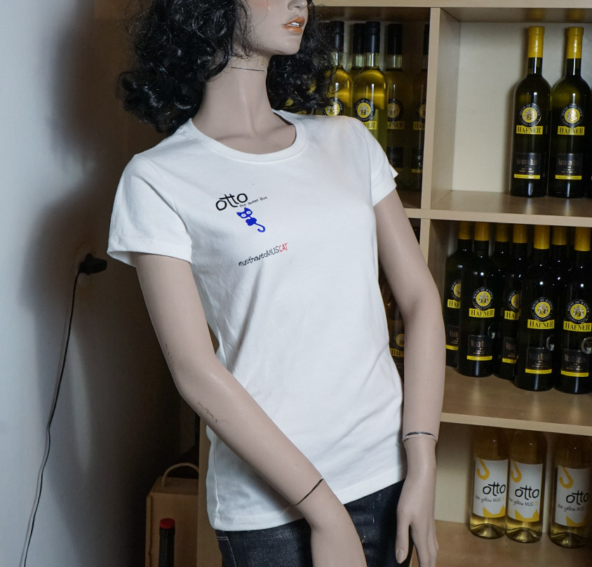 OTTO_T-Shirt-white-front-ladies